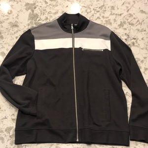 INC Men's lightweight jacket Gray/White XL